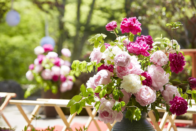 夏の庭園ウェディングレポート