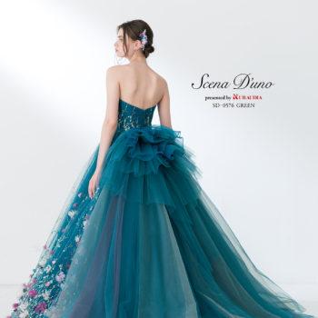 ScenaD'unoスワローフスキードレス