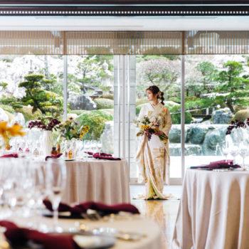 日本庭園の見えるパーティ会場 ガーデンテラス