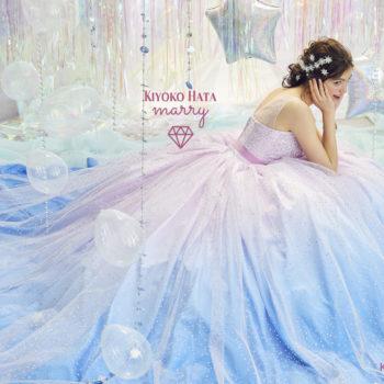 Kiyoko Hata marryキラキラシャーベットカラー